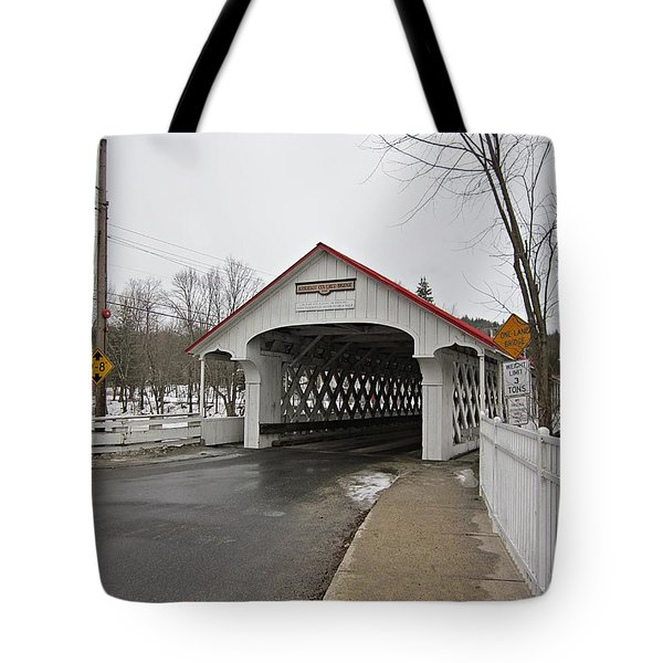 Ashuelot Bridge Tote Bag