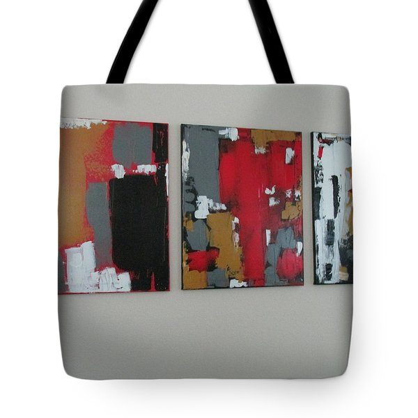 Tote Bag featuring the painting Asian Dawn Asian Day Asian Night by Sharyn Winters
