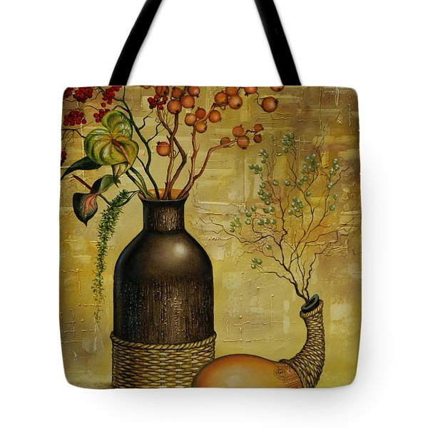 Asian Desert Tote Bag