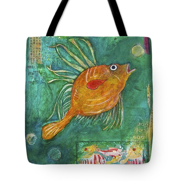 Asian Fish Tote Bag