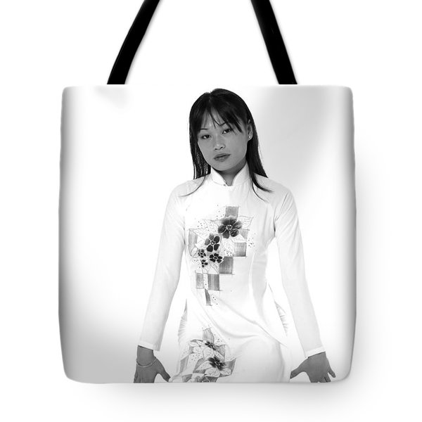 Asian Girl Tote Bag