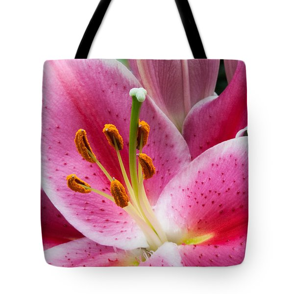 Asian Lily Tote Bag