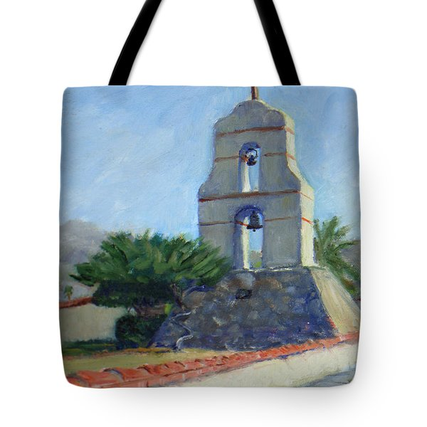 Asistencia Bell Tower Tote Bag