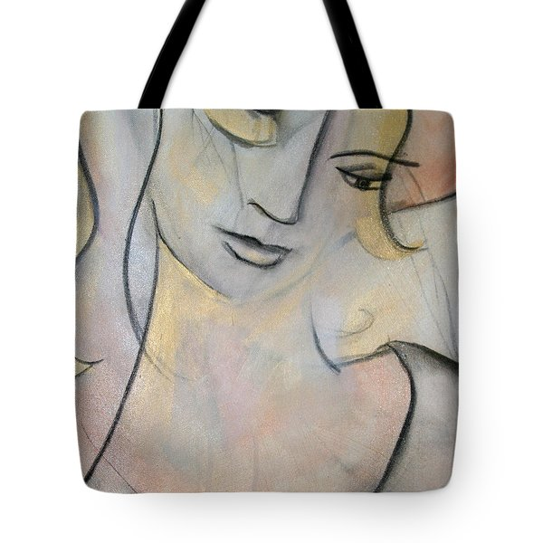 Asleep In The Golden Choker Of Dreams Tote Bag