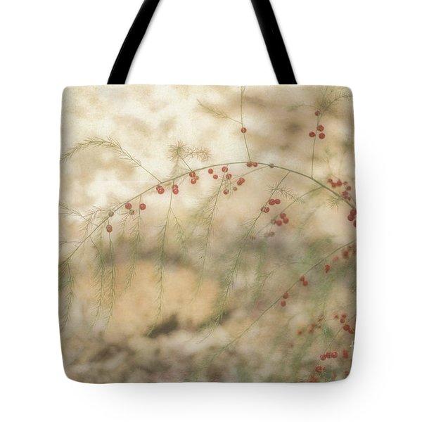 Asparagus Tote Bag by Elaine Teague