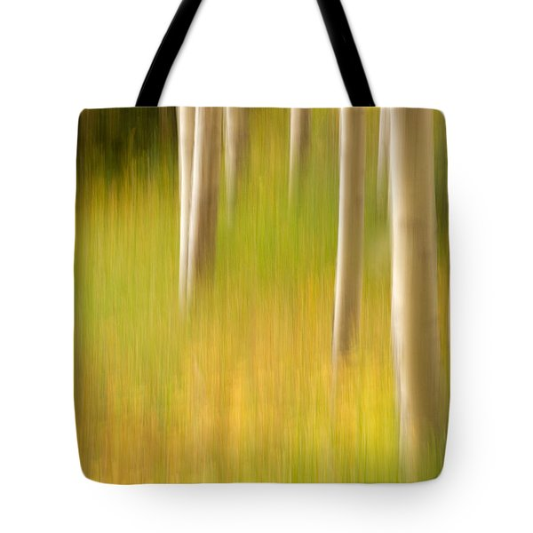 Aspen Abstract Tote Bag