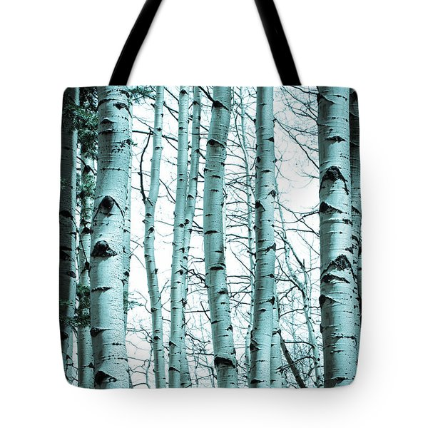 Aspen Blues Tote Bag