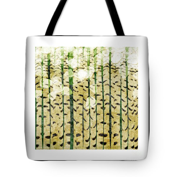 Aspen Colorado Abstract Square 3 Tote Bag