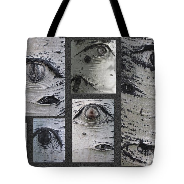 Aspen Eyes Are Watching You Tote Bag