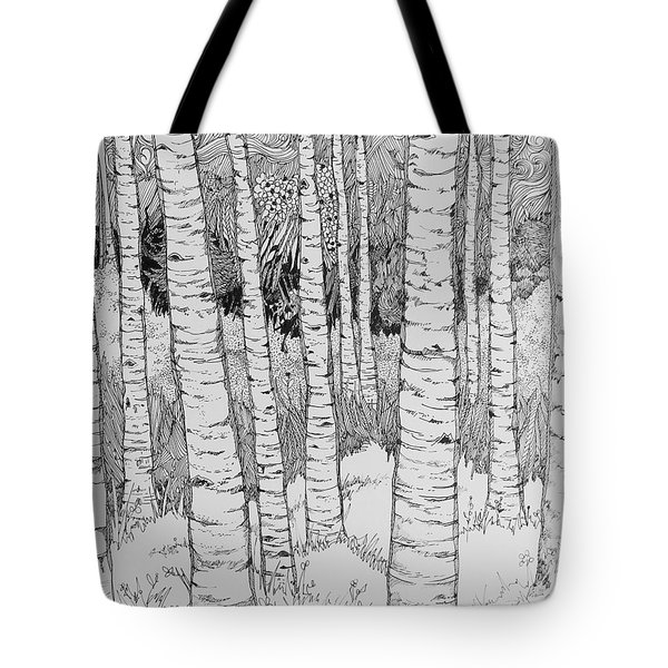Aspen Forest Tote Bag by Terry Holliday
