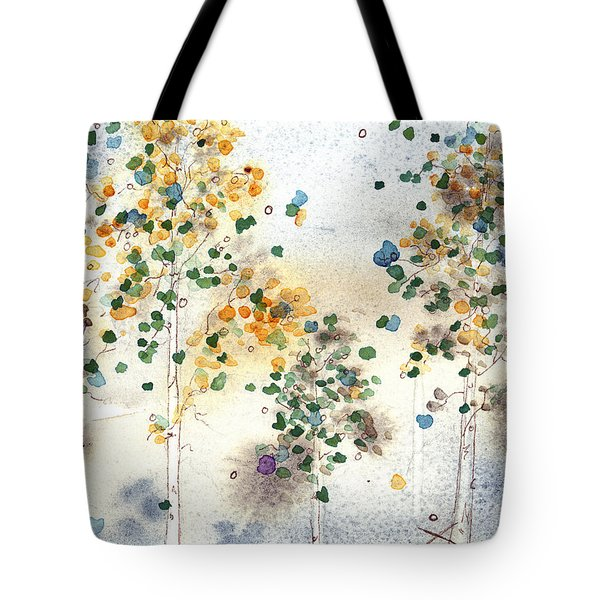 Aspen Grove Tote Bag by Dawn Derman