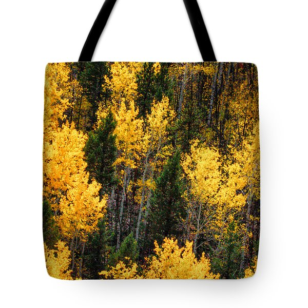 Aspen Grove Tote Bag by Juli Ellen