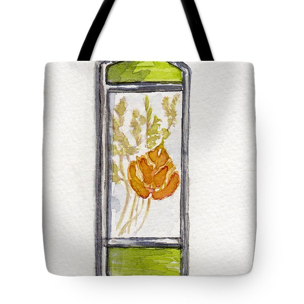 Aspen Leaf Suncatcher Tote Bag by Julie Maas