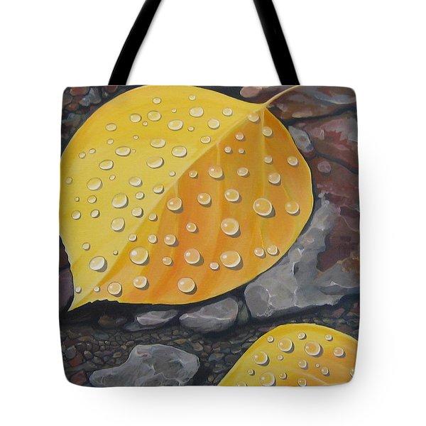 Aspen Rain Tote Bag