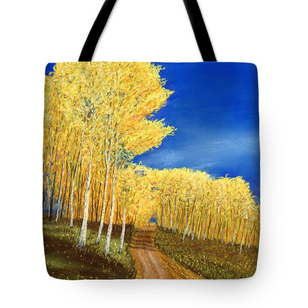 Aspen Road Tote Bag