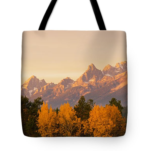 Aspen Trees On A Mountainside, Grand Tote Bag by Panoramic Images