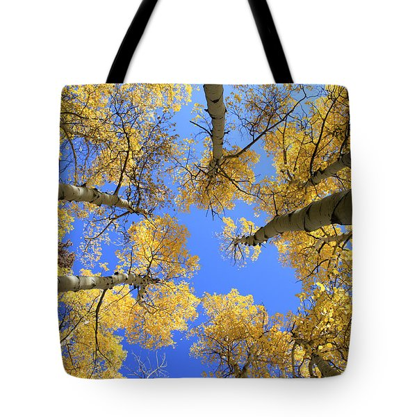 Aspens Skyward Tote Bag