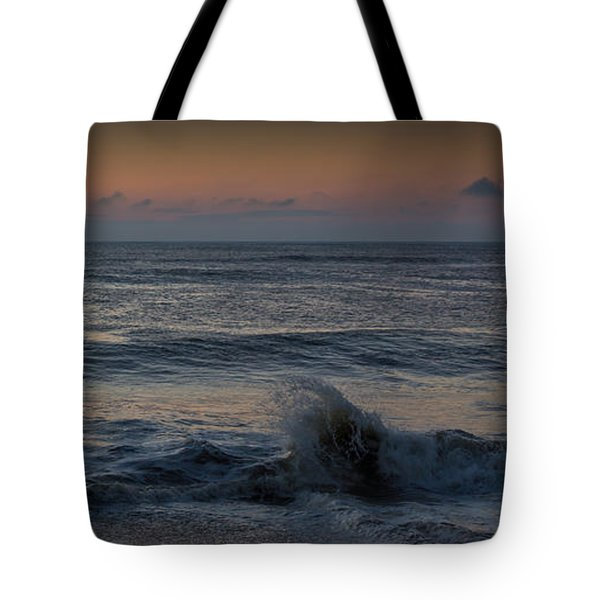 Assateague Waves Tote Bag by Photographic Arts And Design Studio