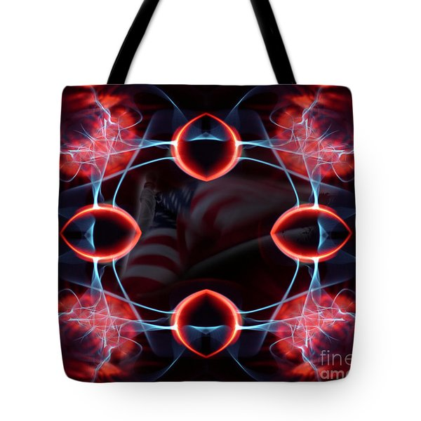 Tote Bag featuring the photograph Assault From Within by Clayton Bruster