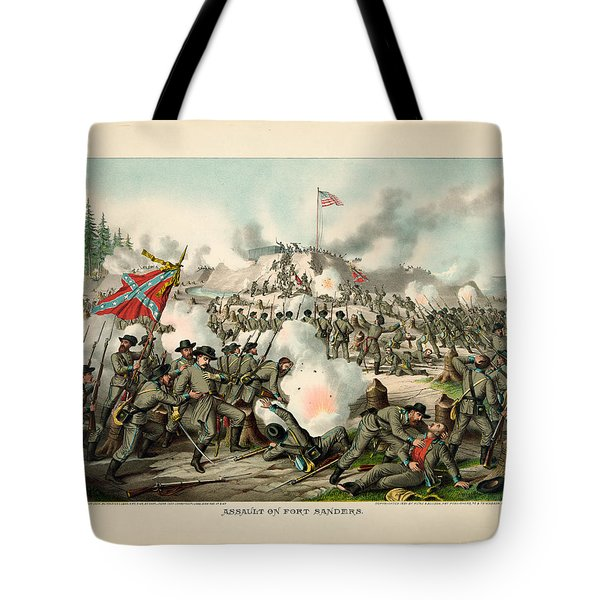 Assault On Fort Sanders Tote Bag