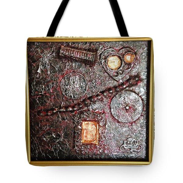 Assemblage Art By Alfredo Garcia Art  Tote Bag