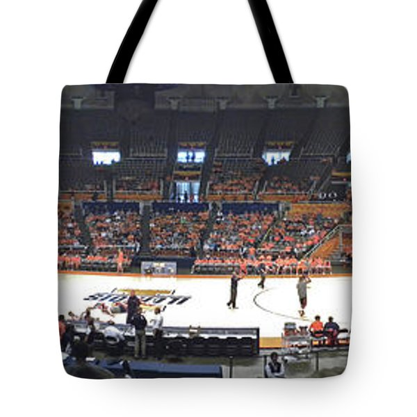 Assembly Hall University Of Illinois Tote Bag by Thomas Woolworth