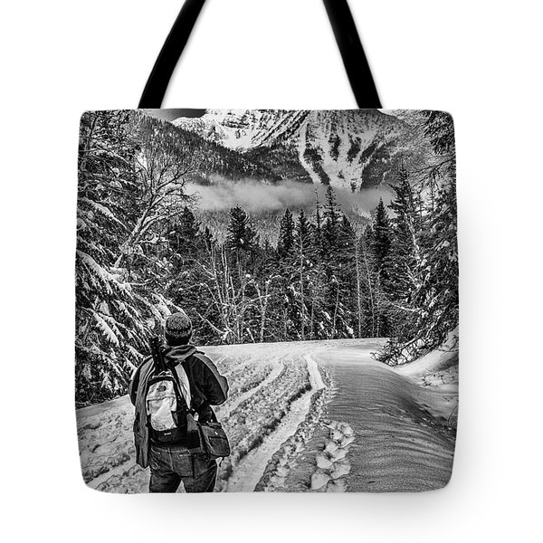 Assessing The Route Tote Bag