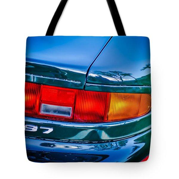 Aston Martin Db 7 Taillight Emblem -0042c Tote Bag