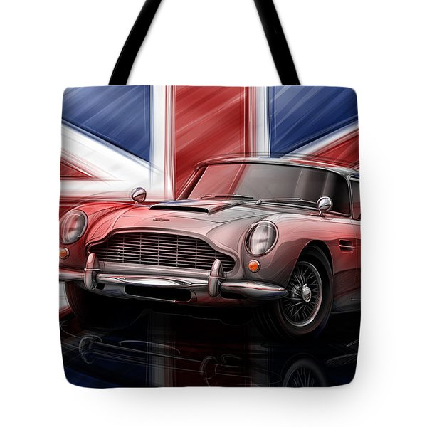 Aston Martin Db5 1963 Tote Bag