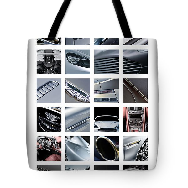 Aston Martin Db9 Tote Bag
