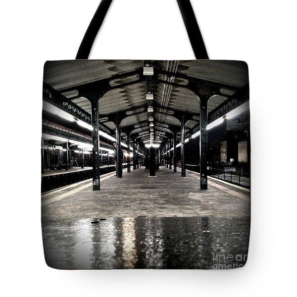 Astoria Boulevard Tote Bag by James Aiken