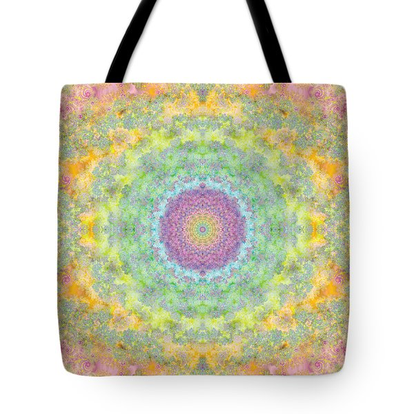Astral Field Tote Bag by Mark Greenberg