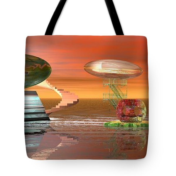 Astro Space Tote Bag