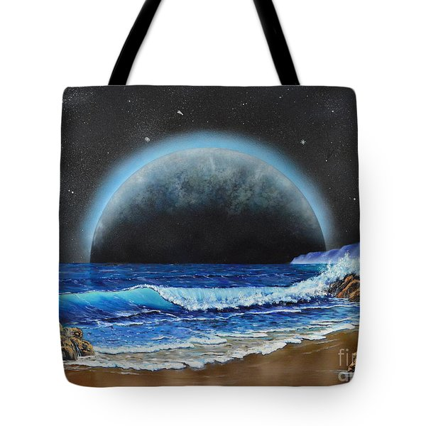 Astronomical Ocean Tote Bag