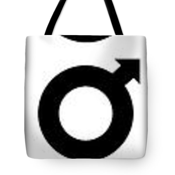Astronomy Planet Symbols 2 Tote Bag by Daniel Hagerman