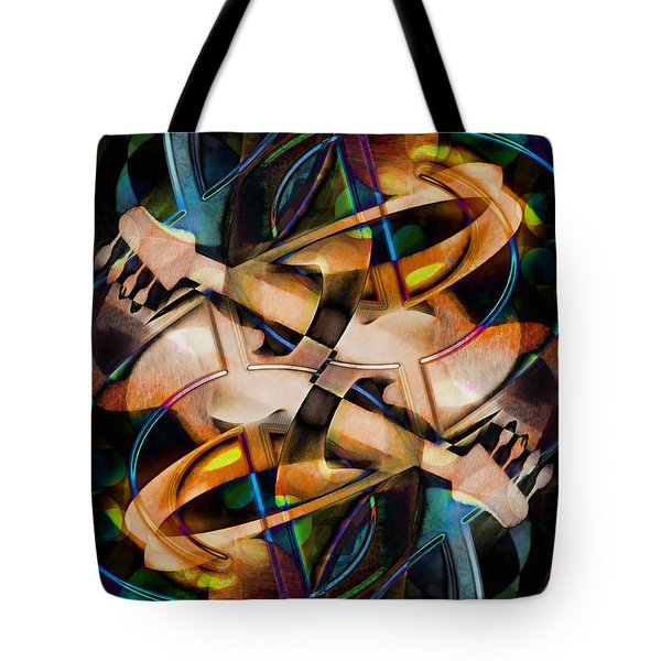 Asturias In G Minor Abstract Tote Bag