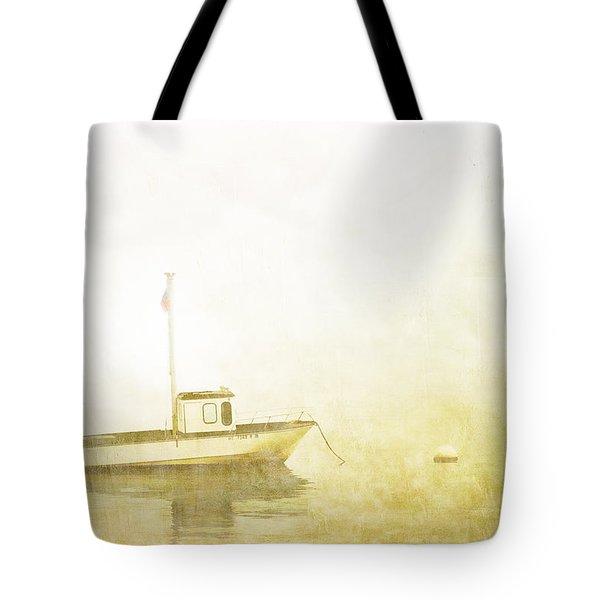 At Anchor Bar Harbor Maine Tote Bag