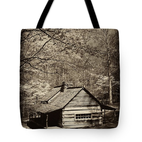 At Home In The Appalachian Mountains Tote Bag by Paul W Faust -  Impressions of Light