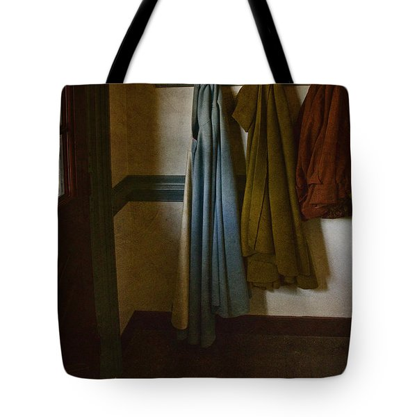 At Home Tote Bag by Margie Hurwich