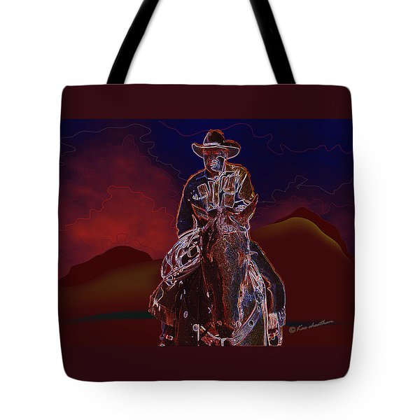 At Home On The Range Tote Bag