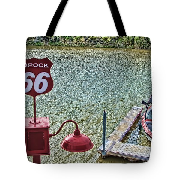 At Lake Havasu Tote Bag by Cathy Anderson