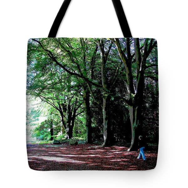 Tote Bag featuring the photograph At Peace With Nature by Charlie Brock