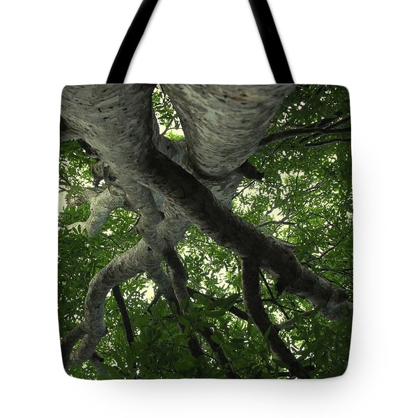 At Peace - World Under Me Tote Bag