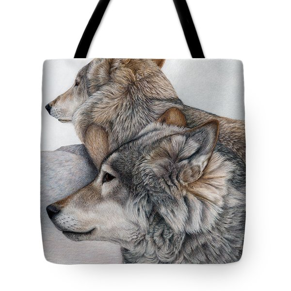 At Rest But Ever Vigilant Tote Bag
