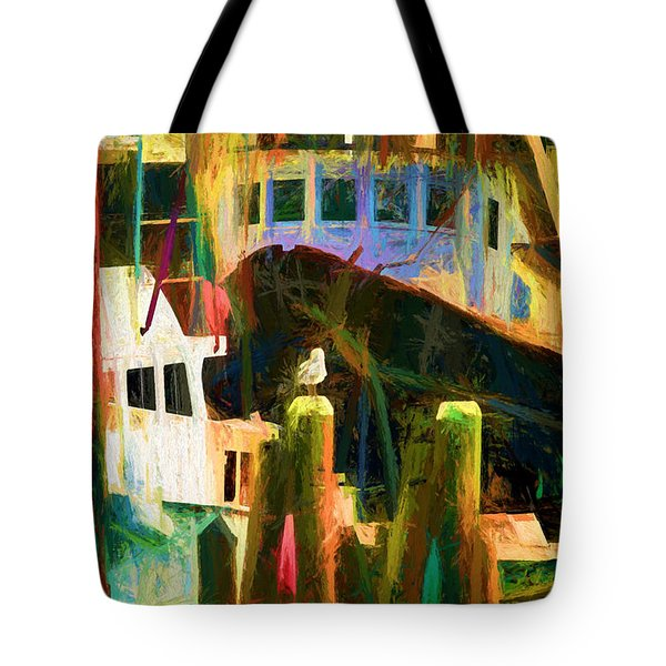 At Rest Menemsha M. V. Tote Bag