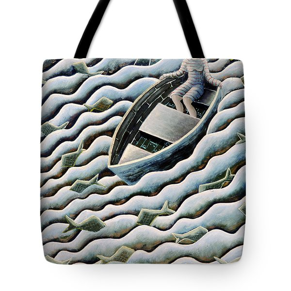 At Sea Tote Bag by Celia Washington