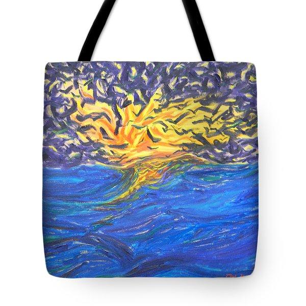 At Sea Tote Bag by Mark Minier
