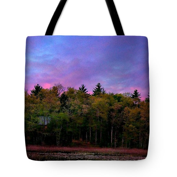 At Sunset Tote Bag by Barbara S Nickerson