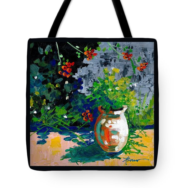 At Tharri Monastery-rhodes Tote Bag