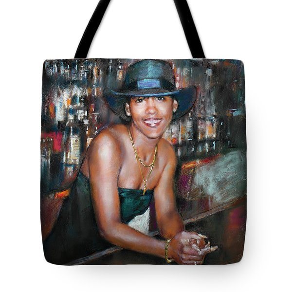 At The Bar Tote Bag